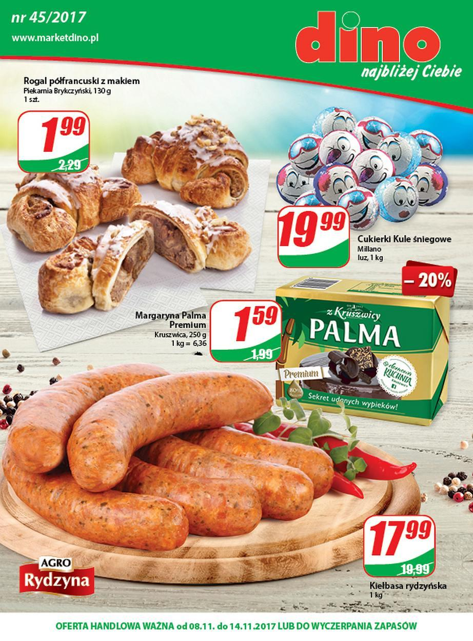 Gazetka promocyjna DINO do 14/11/2017 str.0