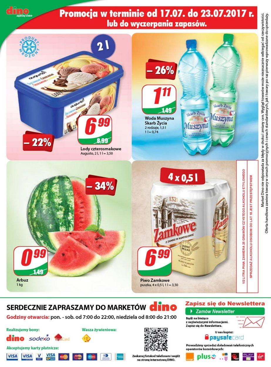 Gazetka promocyjna DINO do 25/07/2017 str.11