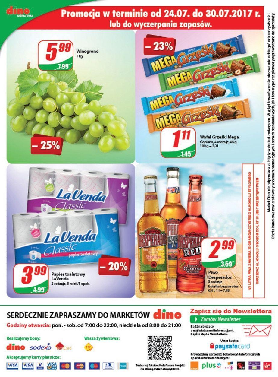 Gazetka promocyjna DINO do 01/08/2017 str.11
