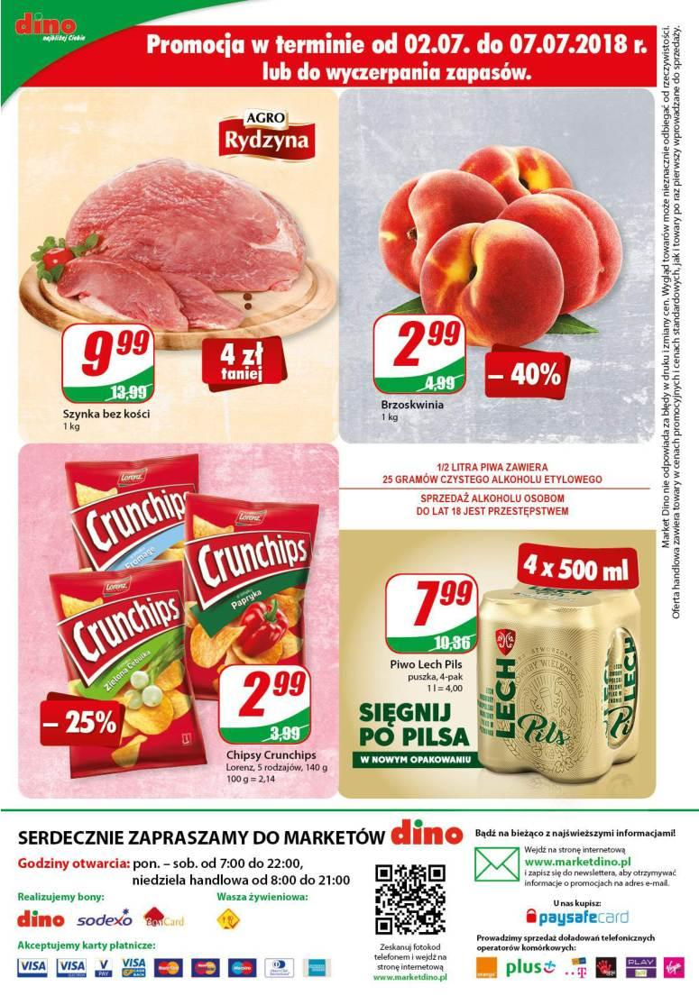 Gazetka promocyjna DINO do 10/07/2018 str.12