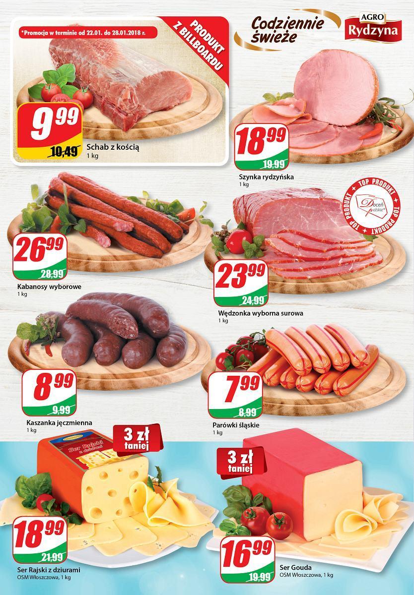 Gazetka promocyjna DINO do 30/01/2018 str.1
