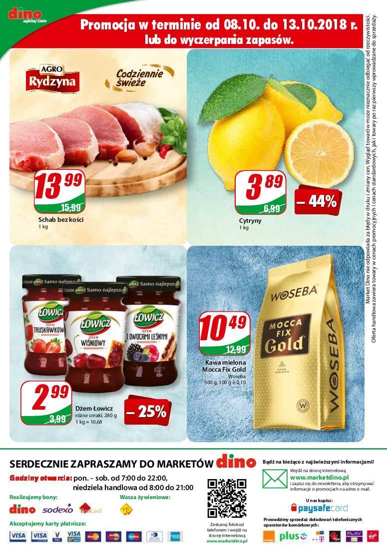 Gazetka promocyjna DINO do 16/10/2018 str.11