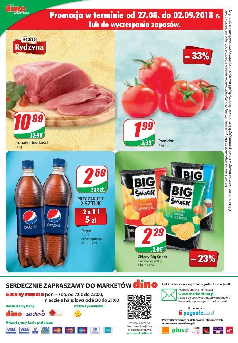 Gazetka promocyjna DINO do 04/09/2018 str.11