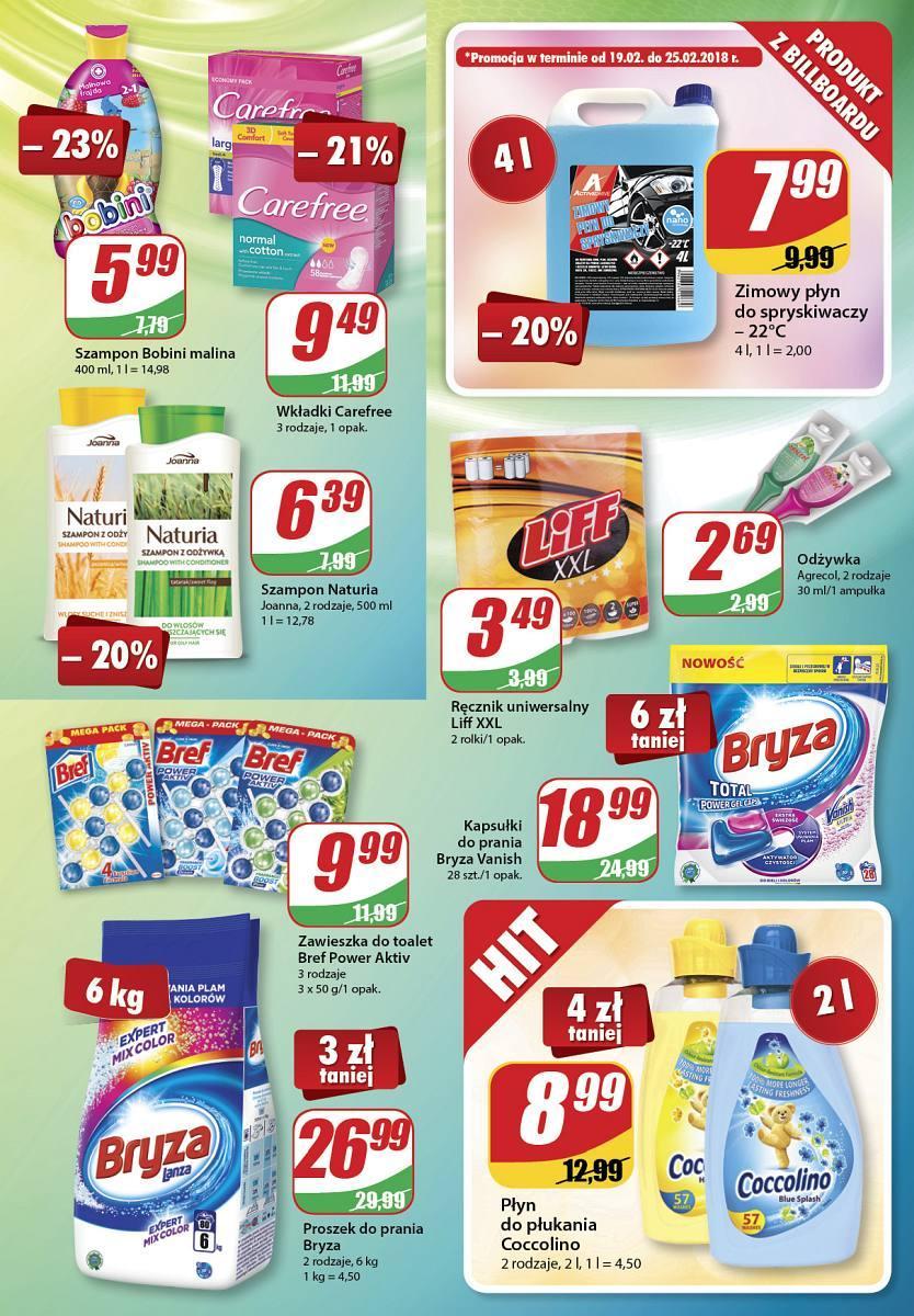 Gazetka promocyjna DINO do 27/02/2018 str.10