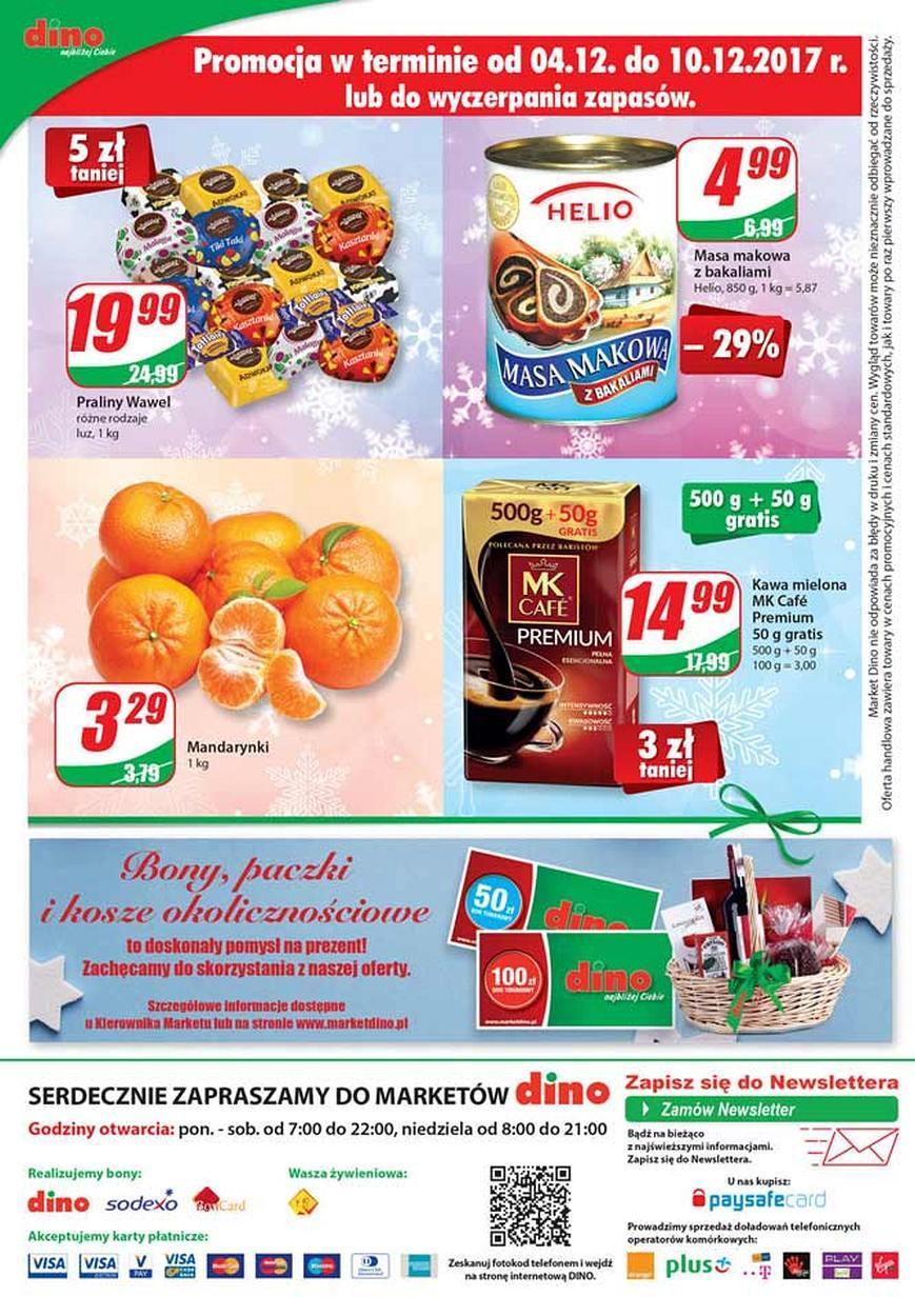 Gazetka promocyjna DINO do 12/12/2017 str.15