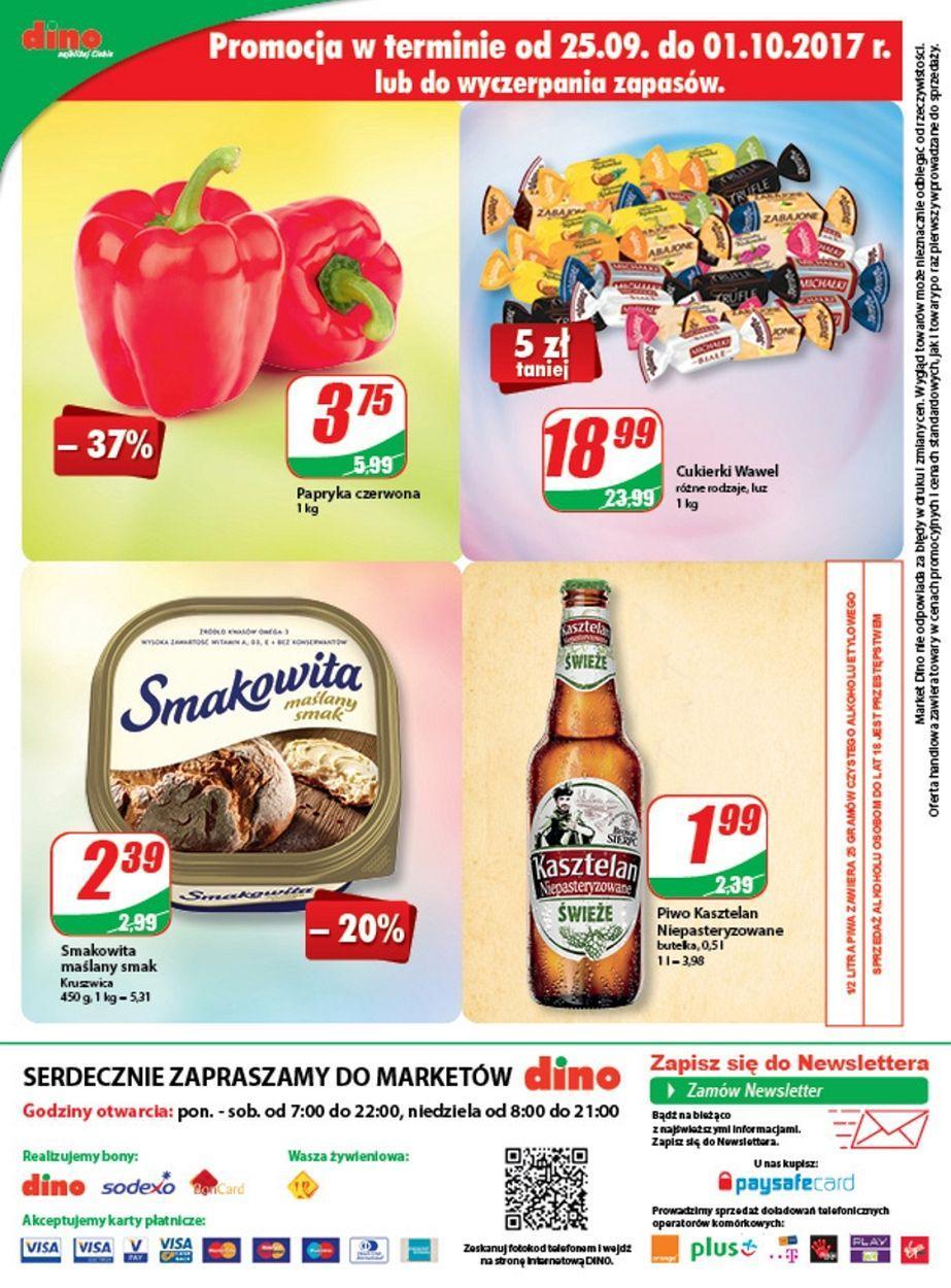 Gazetka promocyjna DINO do 03/10/2017 str.11