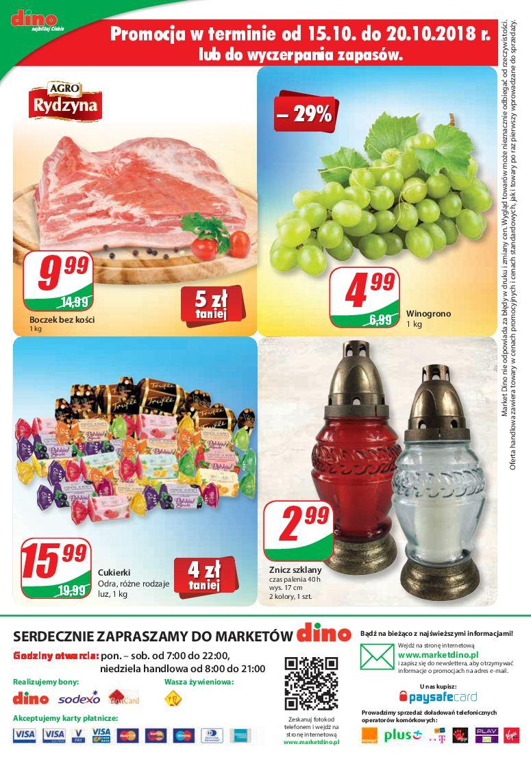 Gazetka promocyjna DINO do 23/10/2018 str.11