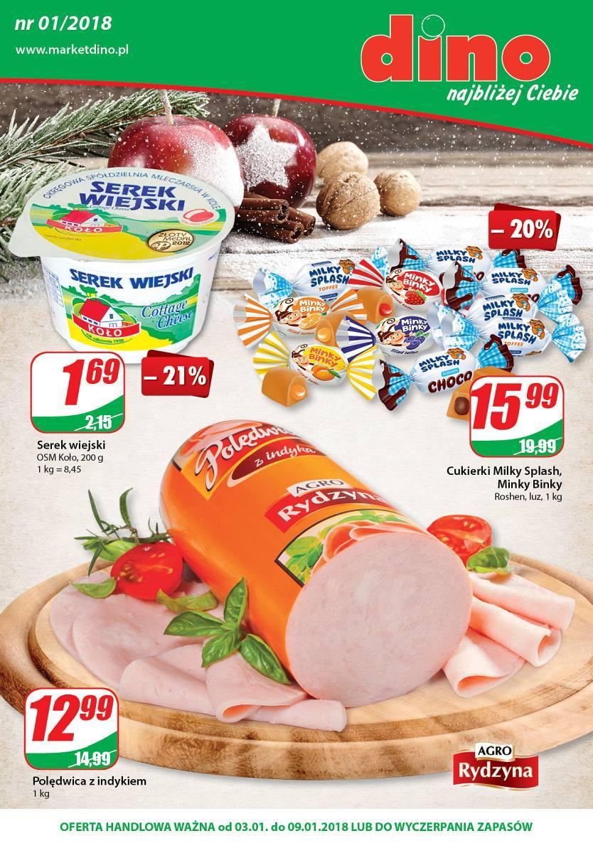 Gazetka promocyjna DINO do 09/01/2018 str.0