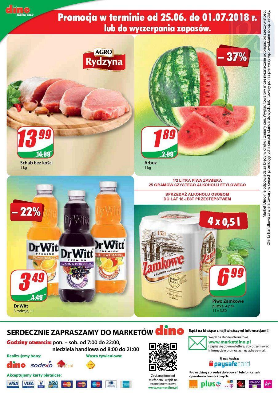 Gazetka promocyjna DINO do 03/07/2018 str.11