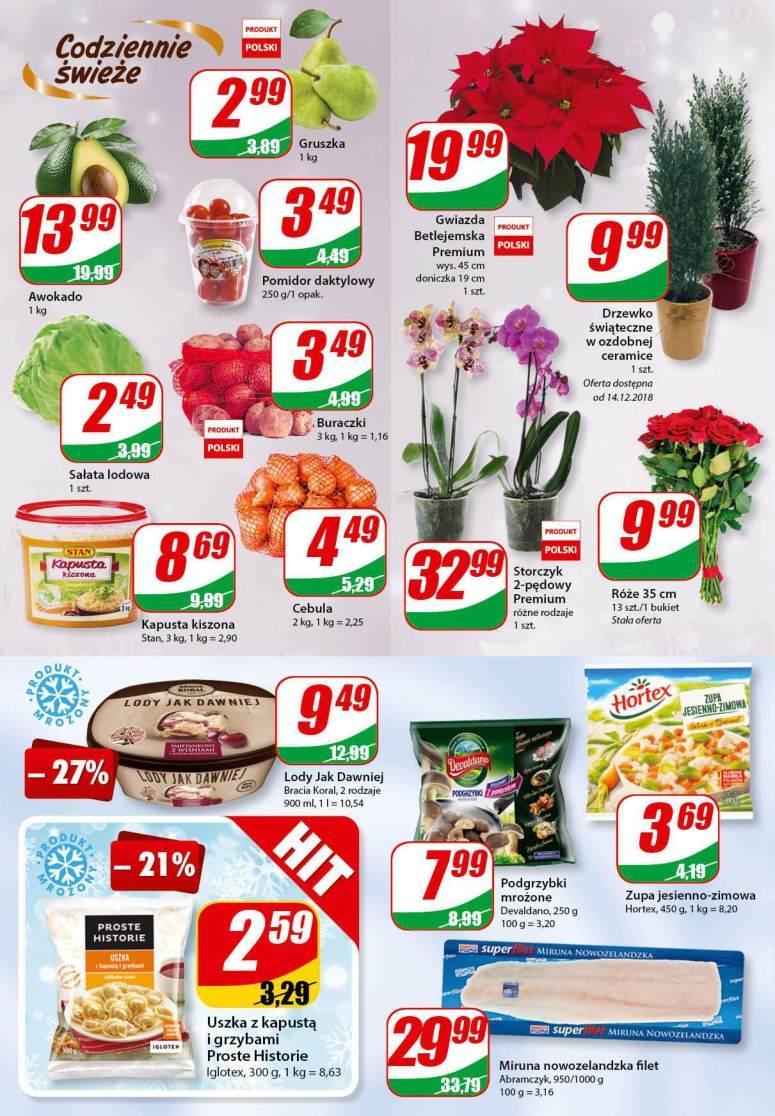Gazetka promocyjna DINO do 18/12/2018 str.3