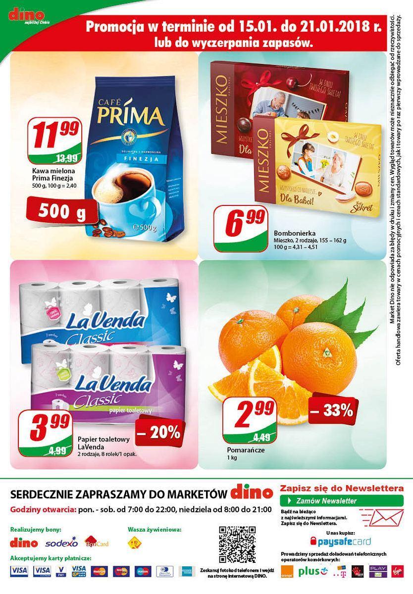 Gazetka promocyjna DINO do 23/01/2018 str.11