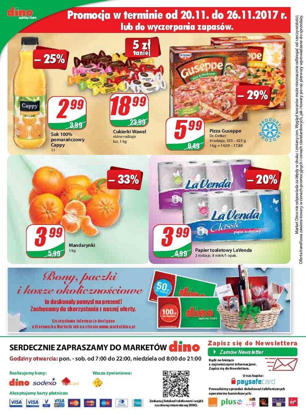 Gazetka promocyjna DINO do 28/11/2017 str.11