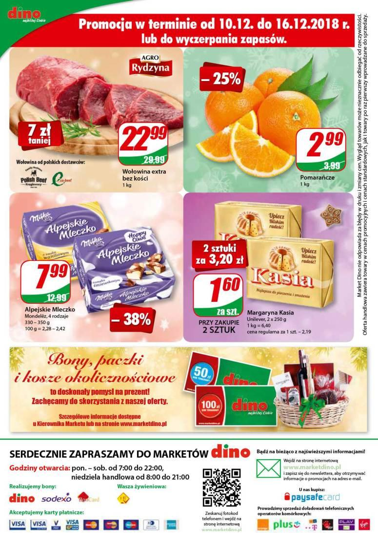 Gazetka promocyjna DINO do 18/12/2018 str.15