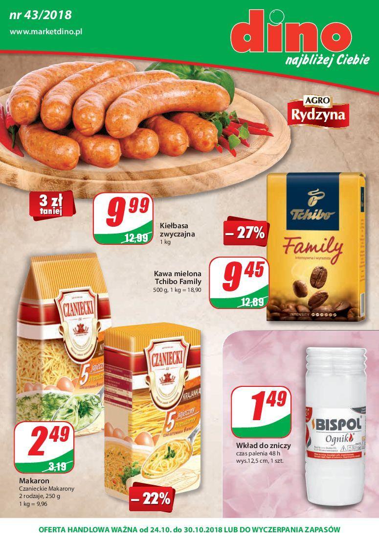 Gazetka promocyjna DINO do 30/10/2018 str.0