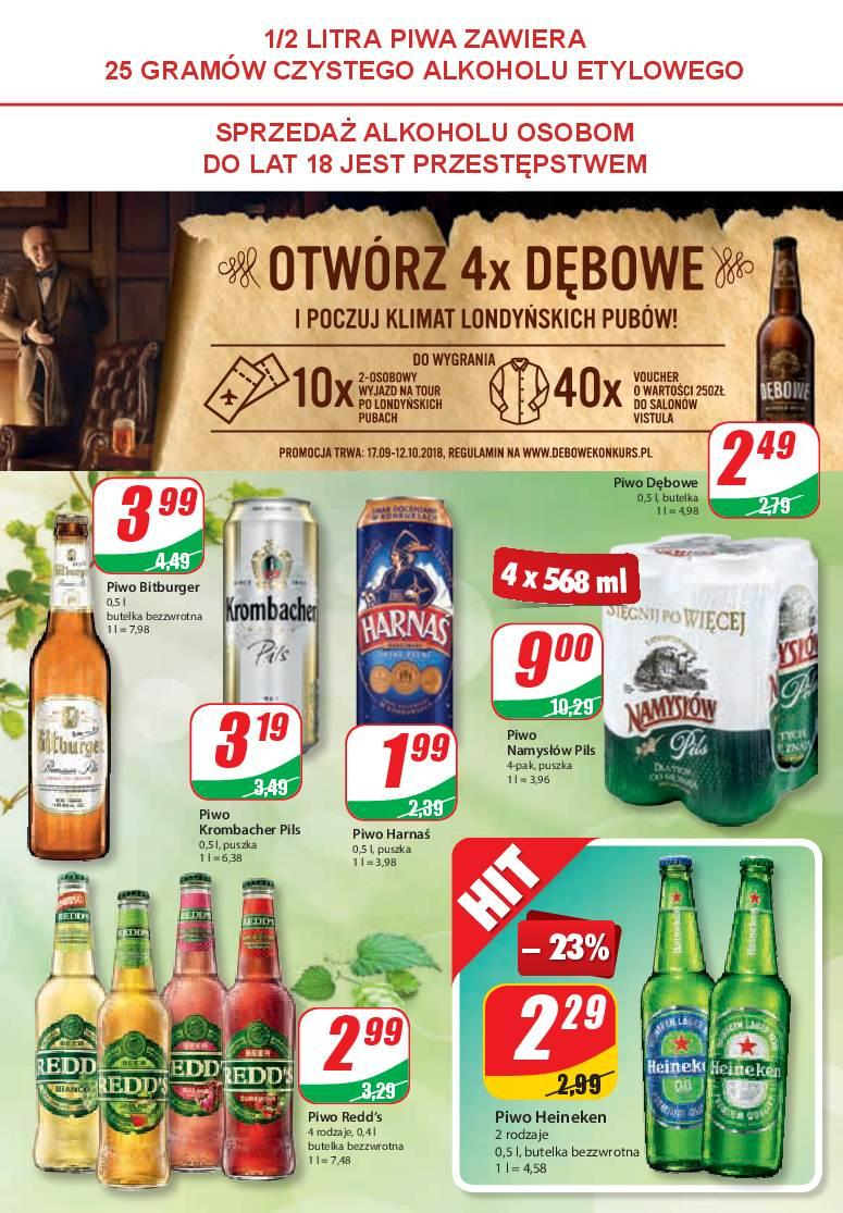 Gazetka promocyjna DINO do 09/10/2018 str.8