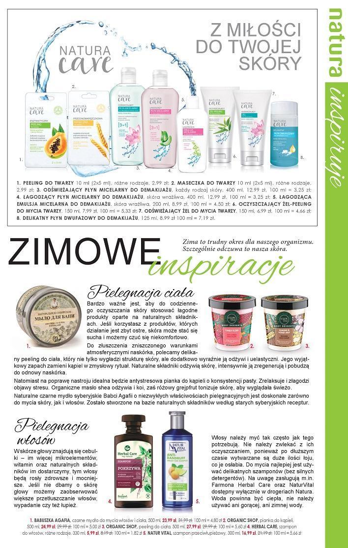 Gazetka promocyjna Drogerie Natura do 15/02/2017 str.4