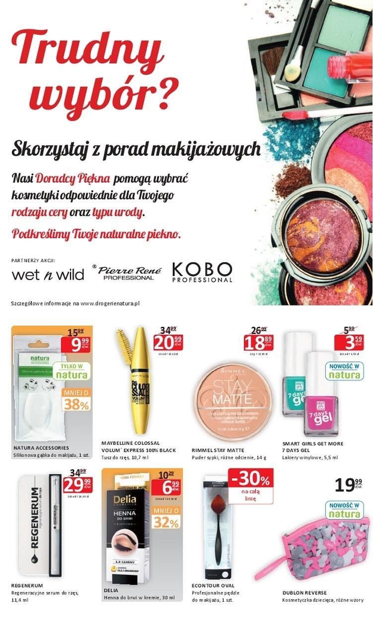 Gazetka promocyjna Drogerie Natura do 05/07/2017 str.1