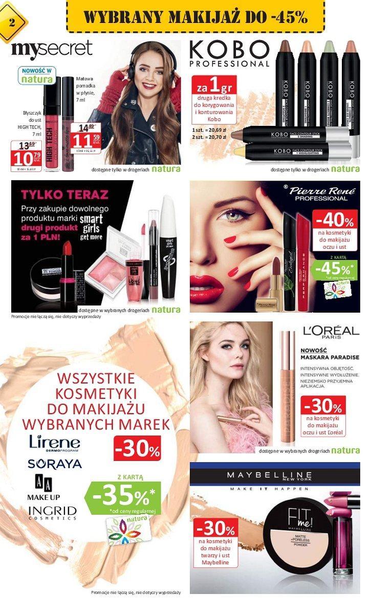 Gazetka promocyjna Drogerie Natura do 17/01/2018 str.1