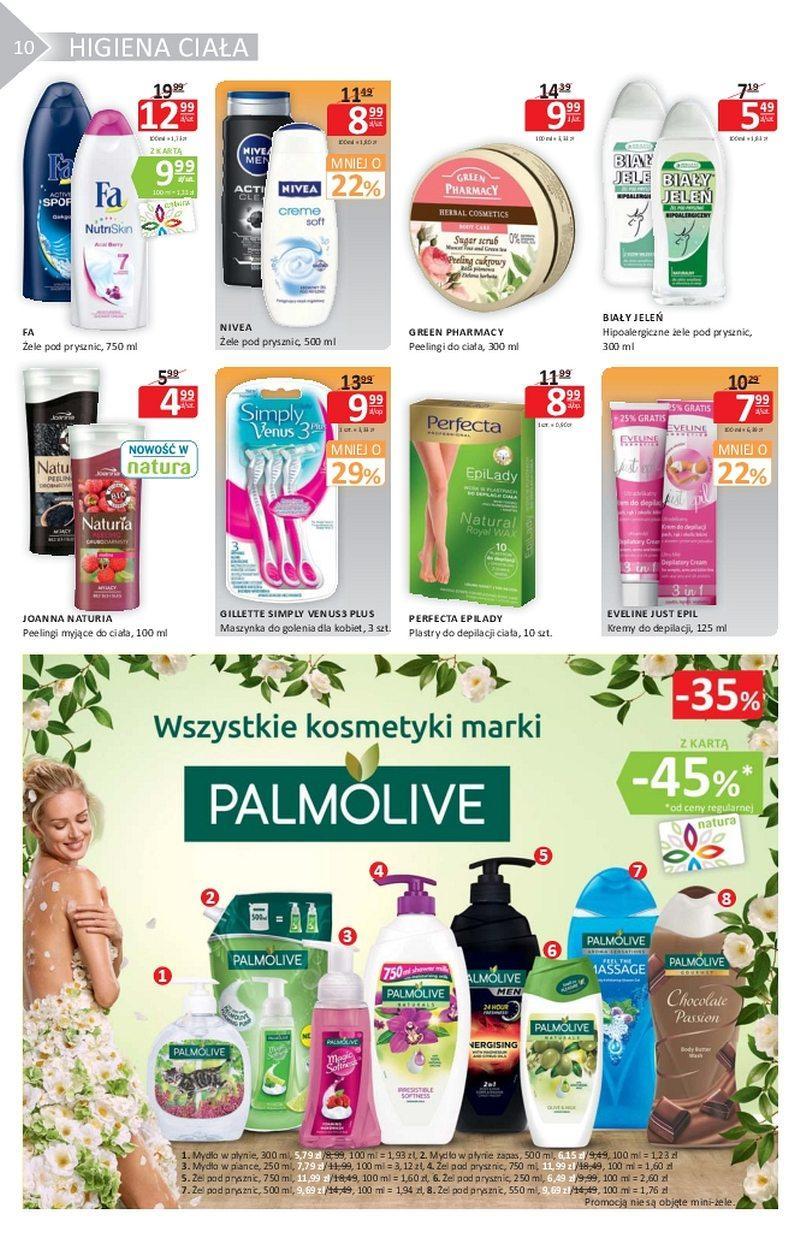 Gazetka promocyjna Drogerie Natura do 02/08/2017 str.9