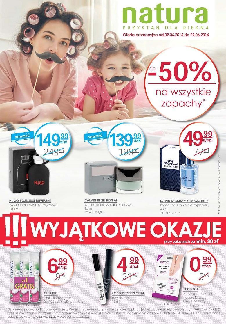 Gazetka promocyjna Drogerie Natura do 22/06/2016 str.0