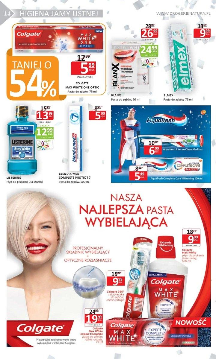 Gazetka promocyjna Drogerie Natura do 31/01/2018 str.13
