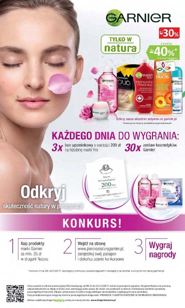 Gazetka promocyjna Drogerie Natura do 22/11/2017 str.15