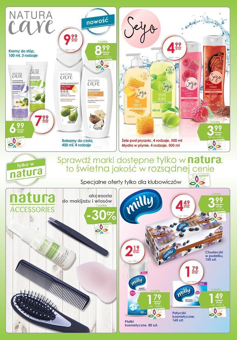 Gazetka promocyjna Drogerie Natura do 26/10/2016 str.14