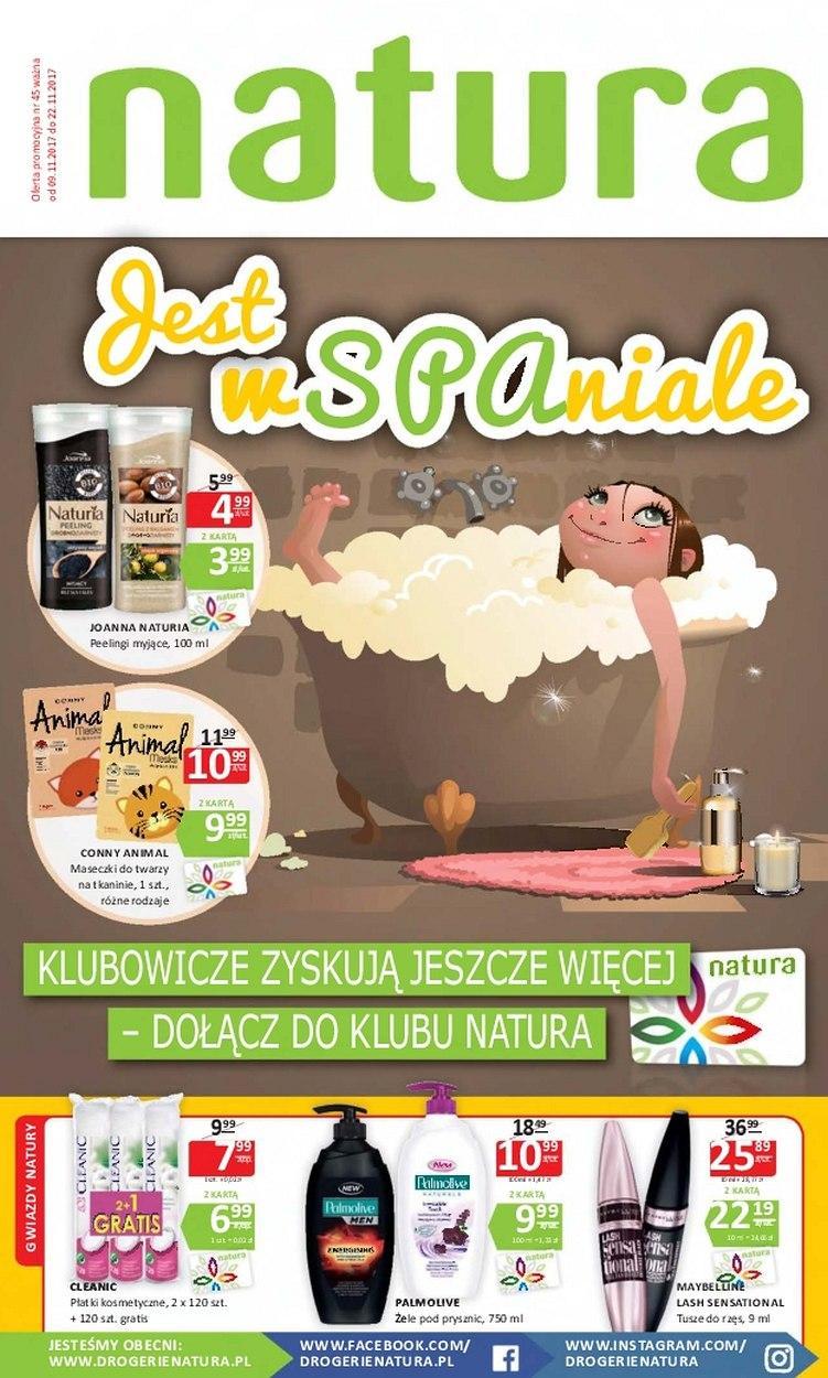Gazetka promocyjna Drogerie Natura do 22/11/2017 str.0