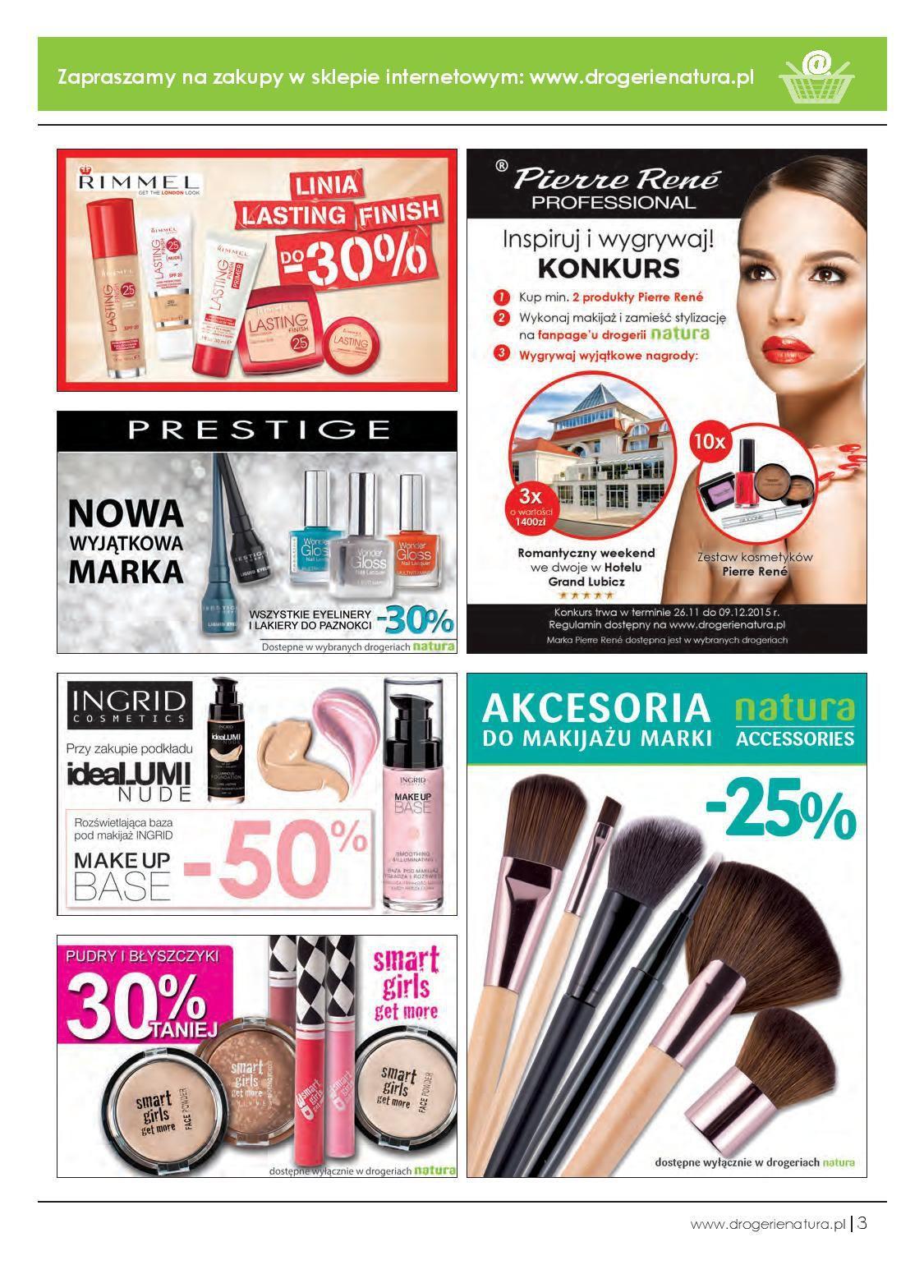 Gazetka promocyjna Drogerie Natura do 09/12/2015 str.2