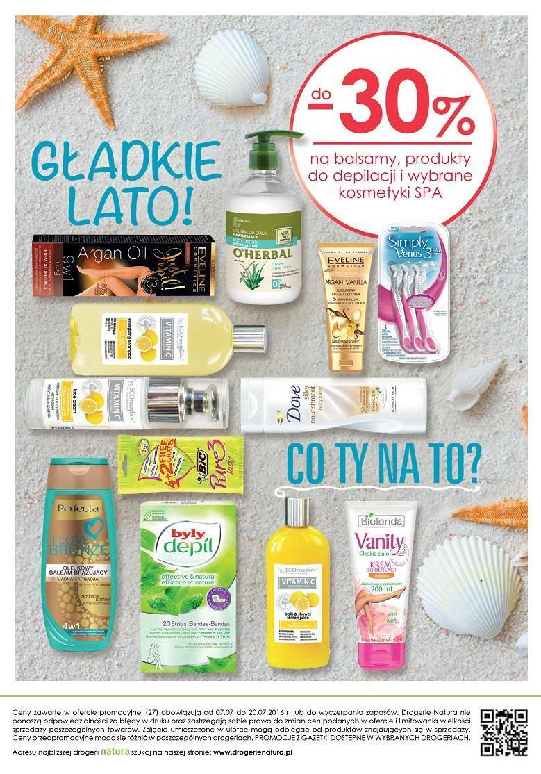 Gazetka promocyjna Drogerie Natura do 20/07/2016 str.15