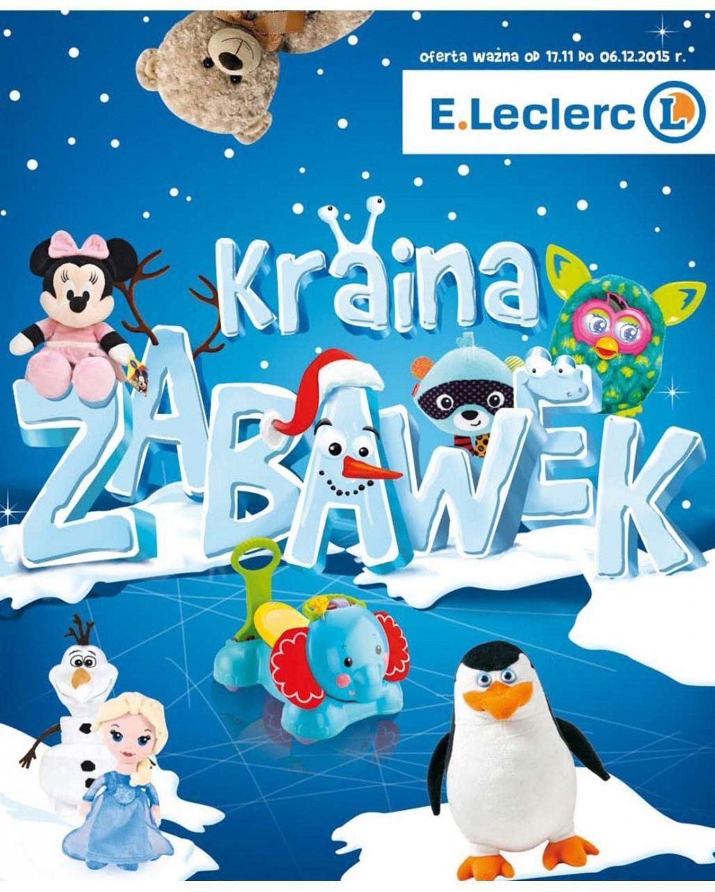 Gazetka promocyjna E.Leclerc do 06/12/2015 str.0