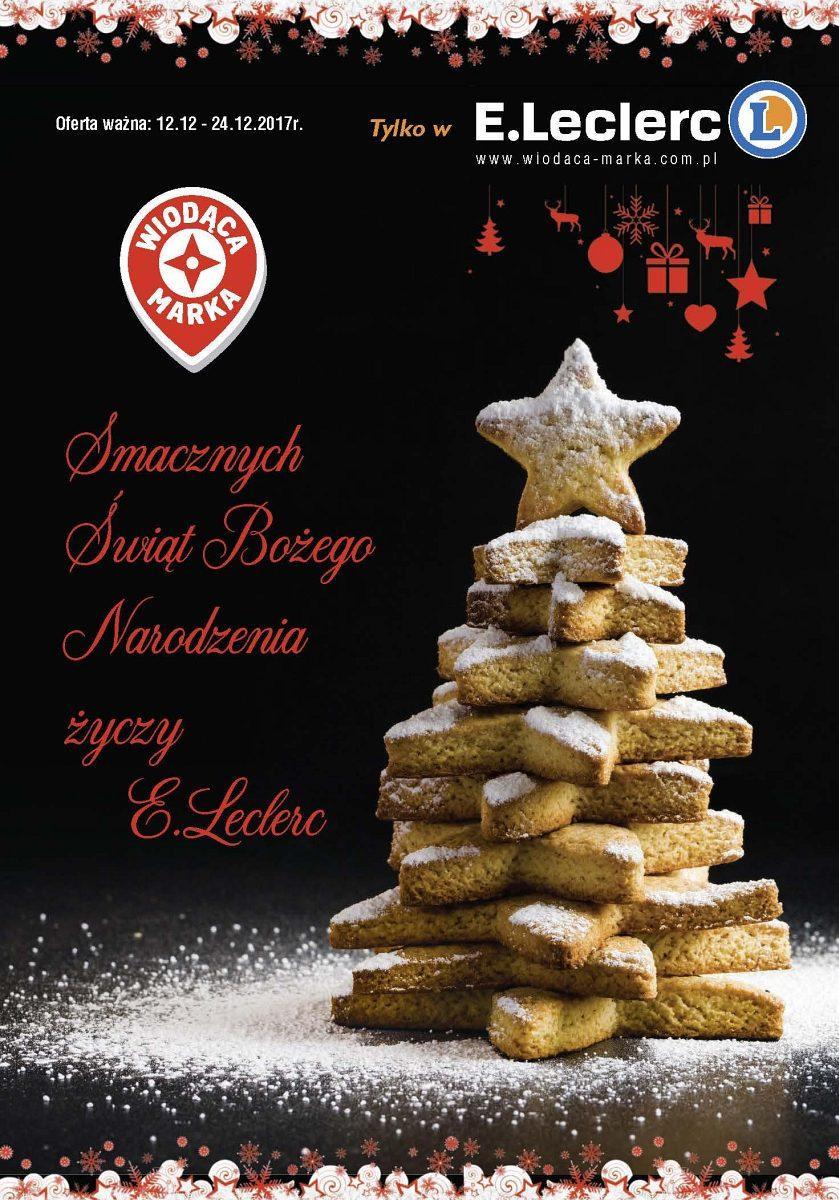 Gazetka promocyjna E.Leclerc do 24/12/2017 str.0