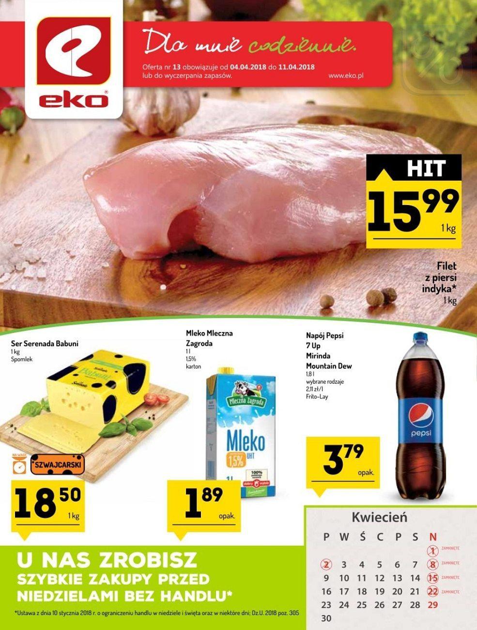 Gazetka promocyjna EKO do 11/04/2018 str.0