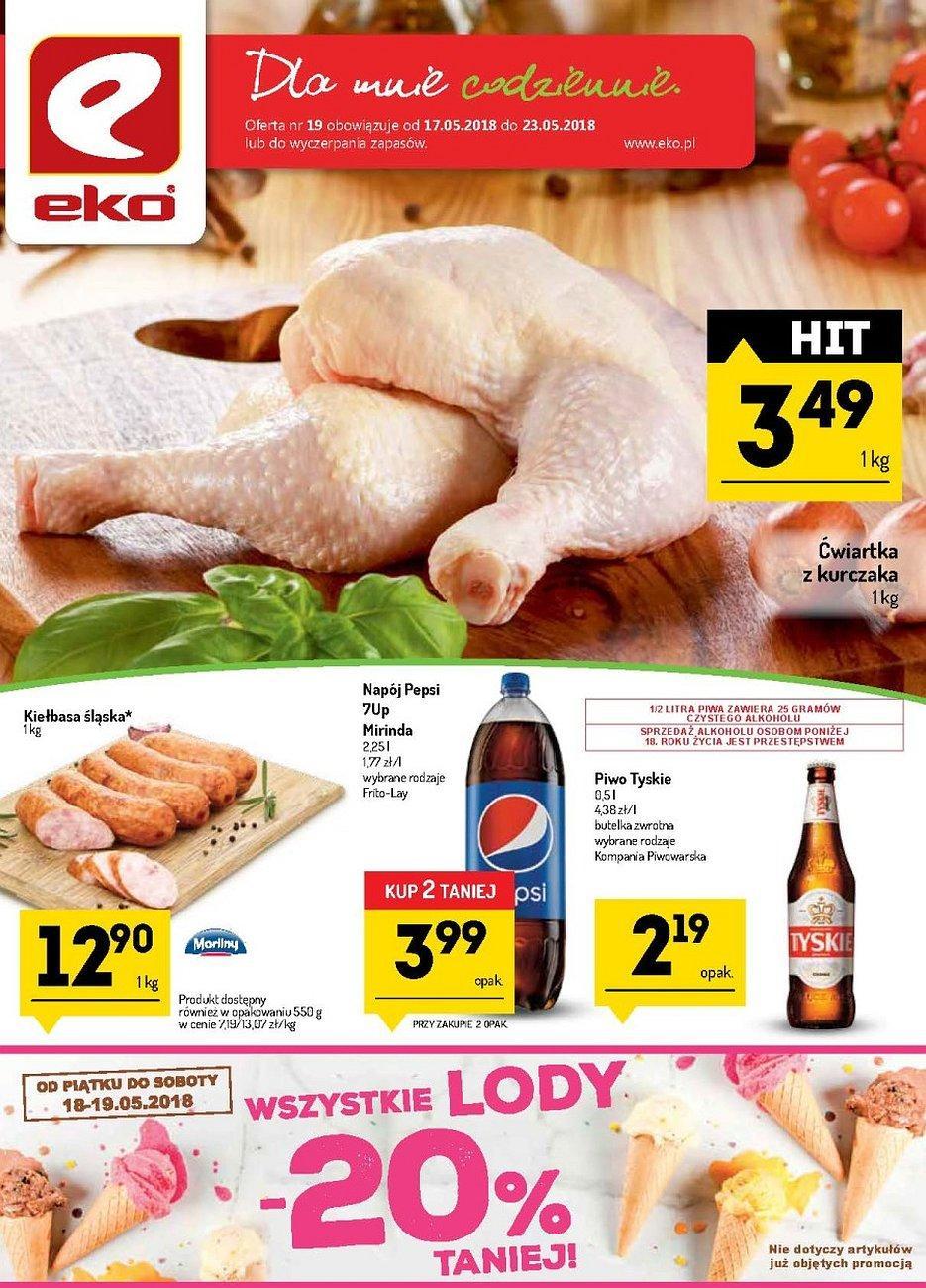 Gazetka promocyjna EKO do 23/05/2018 str.0