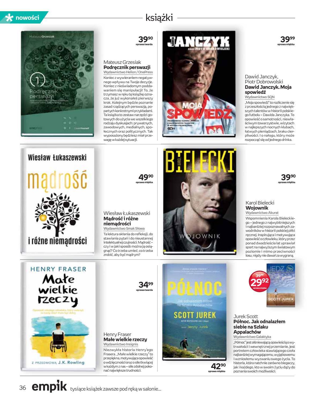Gazetka promocyjna empik do 02/10/2018 str.35