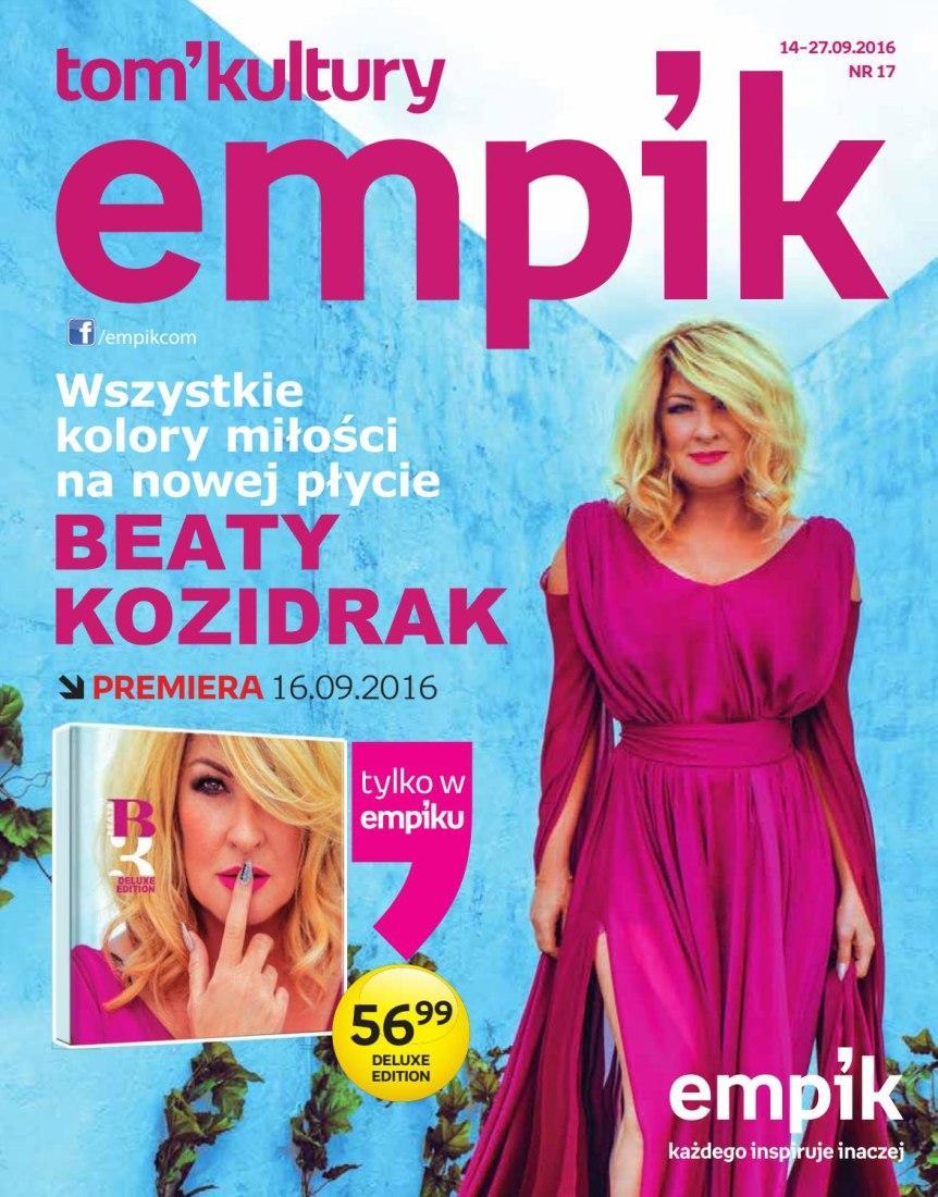 Gazetka promocyjna empik do 27/09/2016 str.0