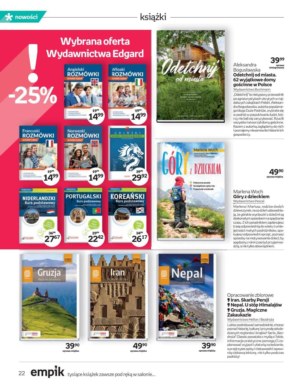 Gazetka promocyjna empik do 03/07/2018 str.21