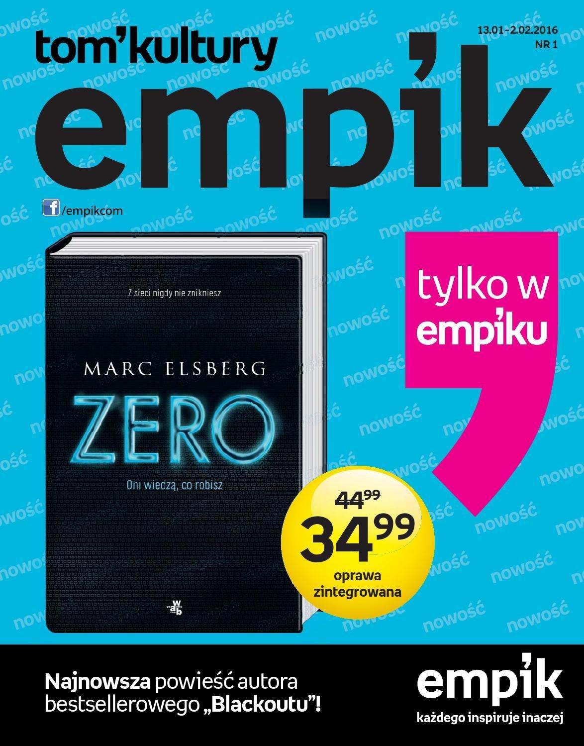 Gazetka promocyjna empik do 02/02/2016 str.0