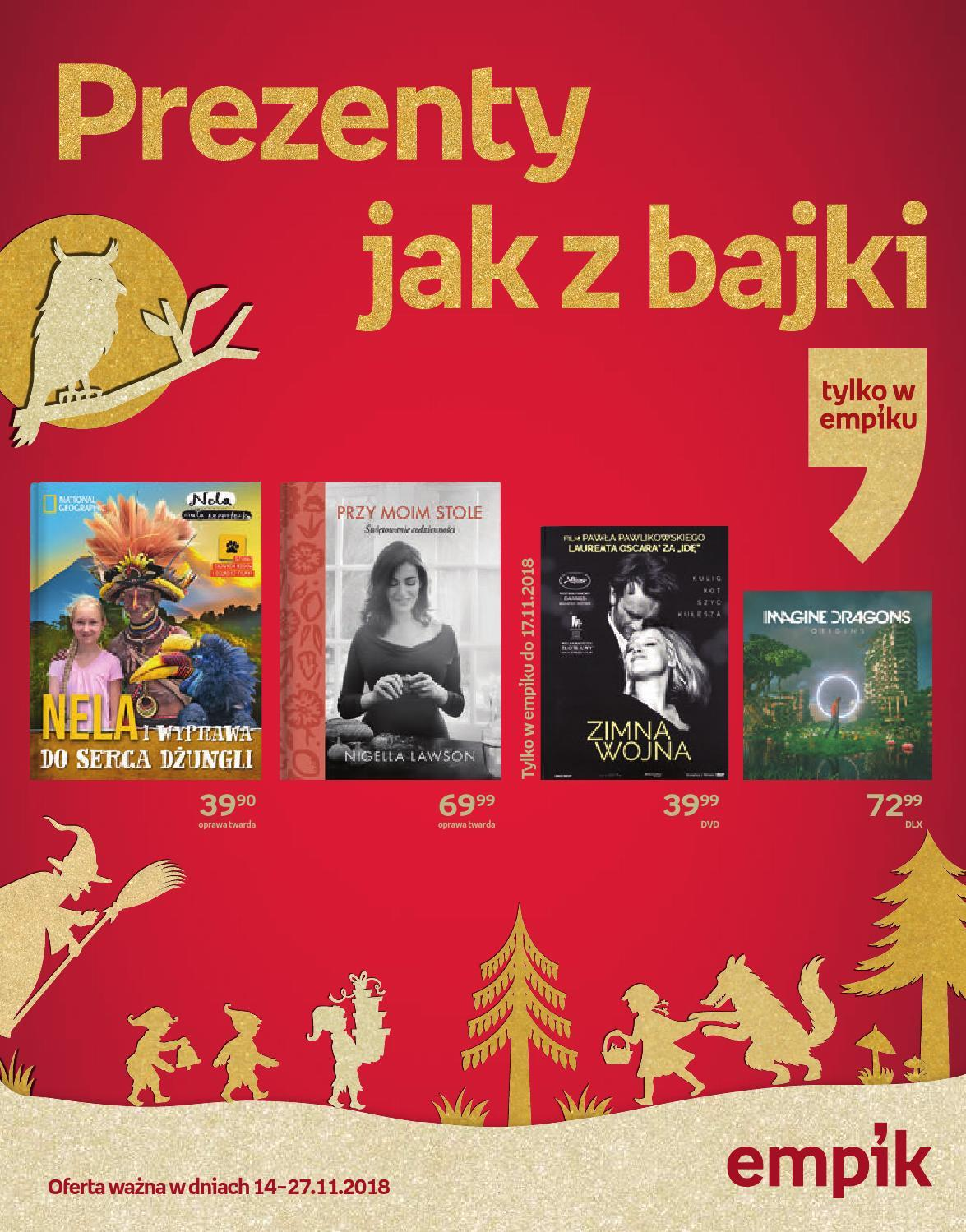 Gazetka promocyjna empik do 27/11/2018 str.0