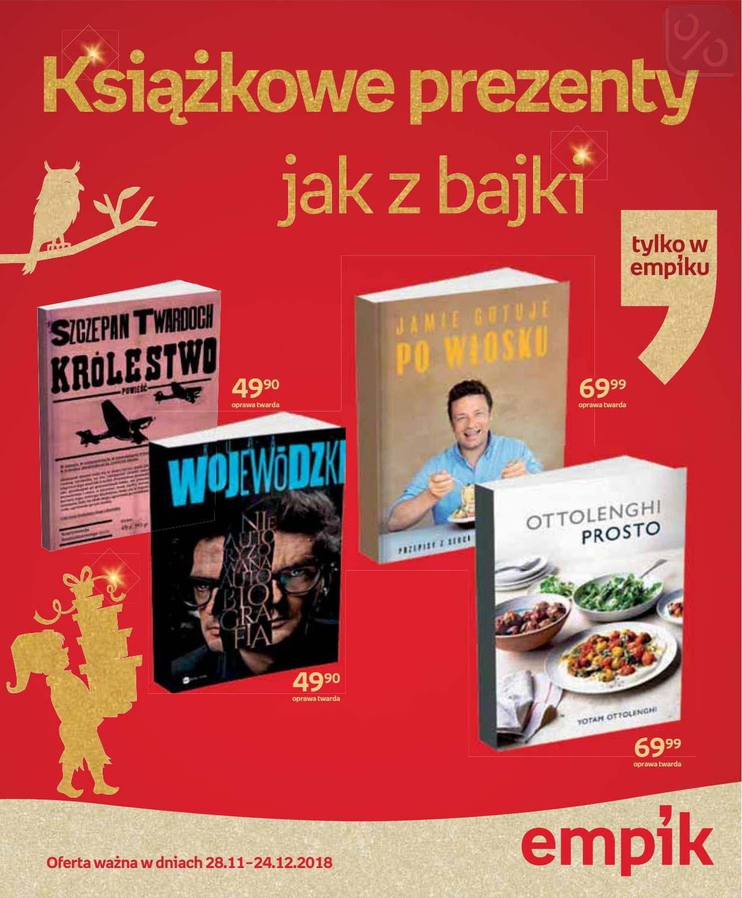 Gazetka promocyjna empik do 24/12/2018 str.1