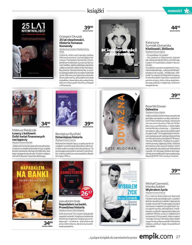 Gazetka promocyjna empik do 02/10/2018 str.26