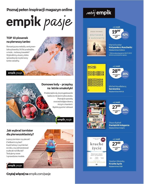 Gazetka promocyjna empik do 30/07/2019 str.2