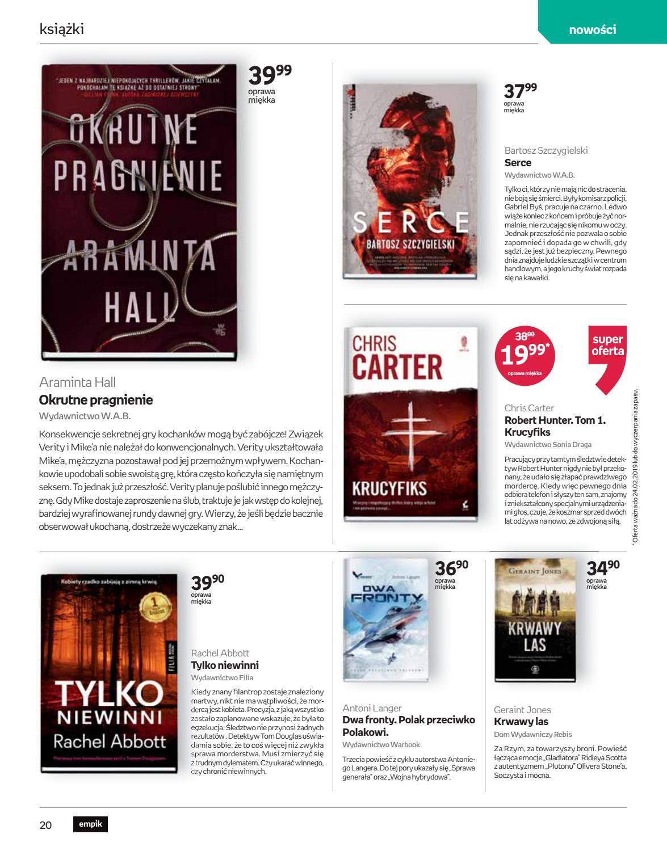 Gazetka promocyjna empik do 26/02/2019 str.19