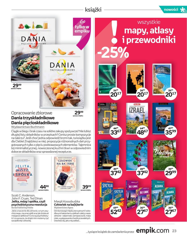 Gazetka promocyjna empik do 18/09/2018 str.23