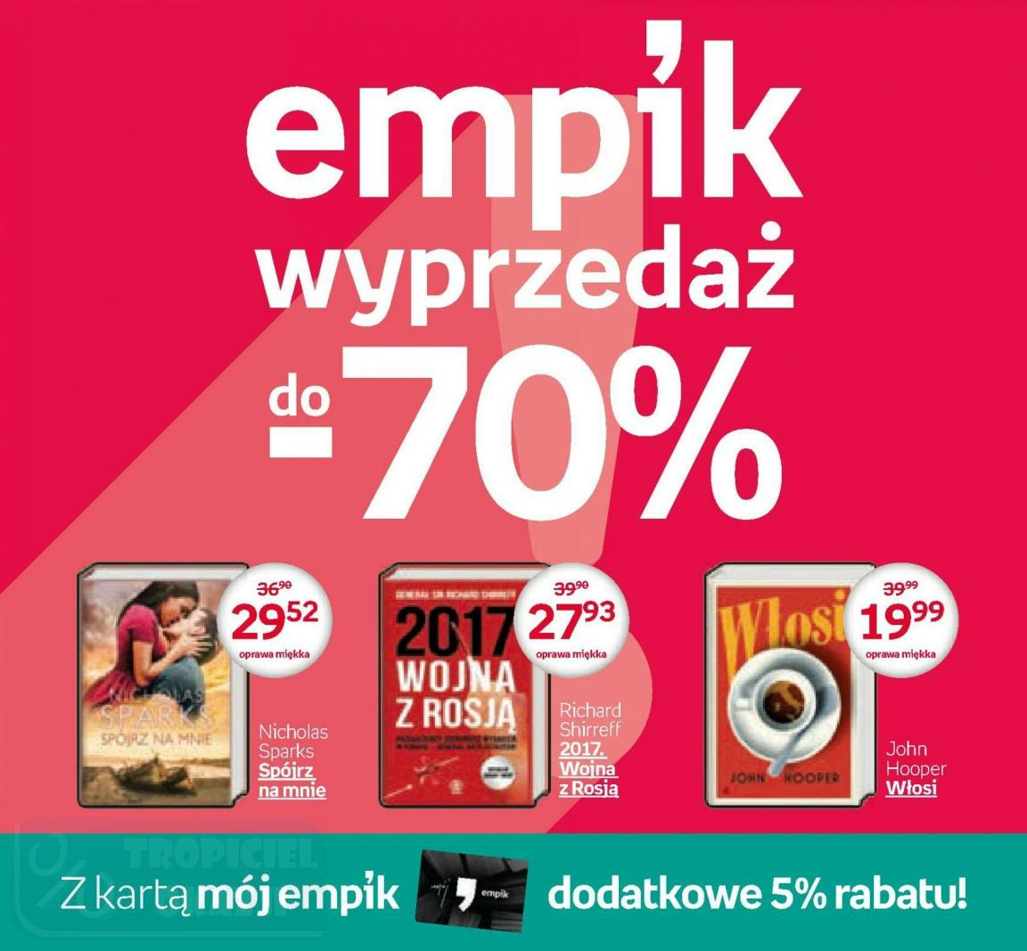 Gazetka promocyjna empik do 29/01/2017 str.0