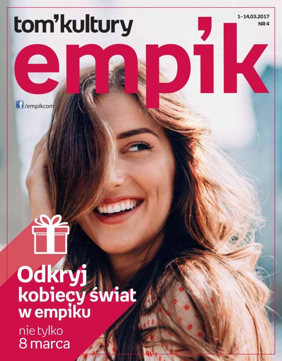 Gazetka promocyjna empik do 14/03/2017 str.0