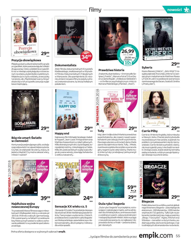 Gazetka promocyjna empik do 02/10/2018 str.54