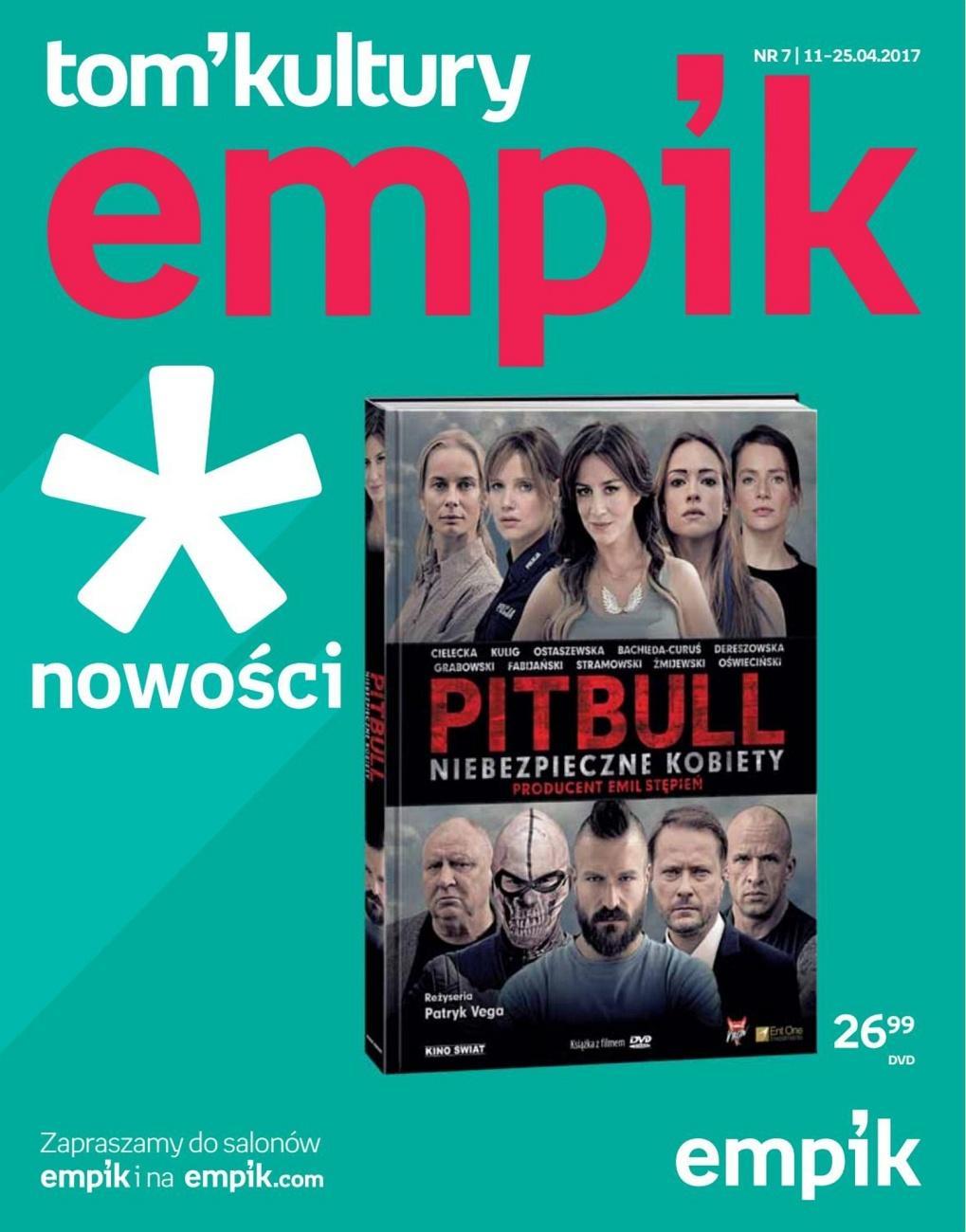 Gazetka promocyjna empik do 25/04/2017 str.0