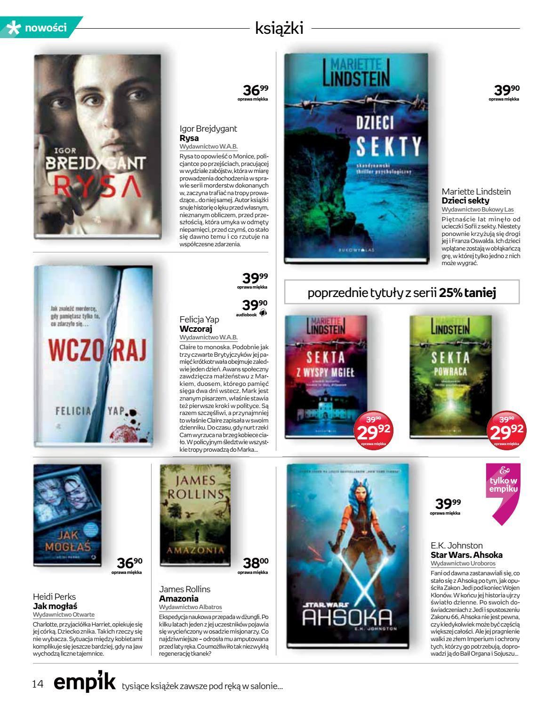 Gazetka promocyjna empik do 04/09/2018 str.14