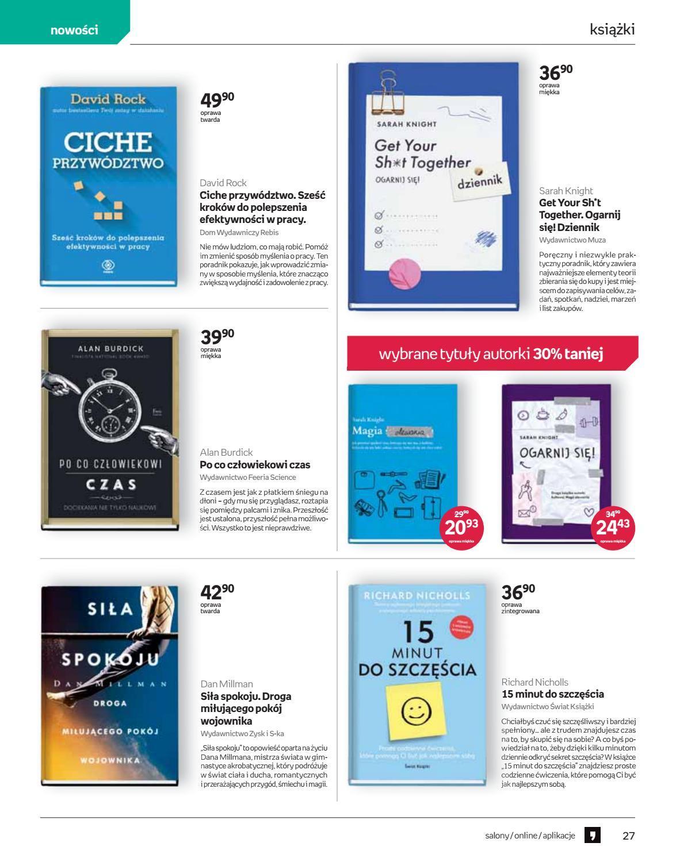 Gazetka promocyjna empik do 26/02/2019 str.26